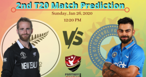 NZ v IND 2nd T20 Match Prediction