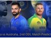 India vs Australia, 2nd ODI, Match Predictiom