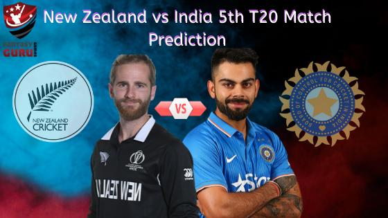 New Zealand vs India 5th T20 Match Prediction